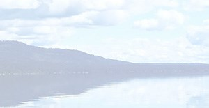 Part 7 of a sliced image of Skidoo Bay on Flathead Lake