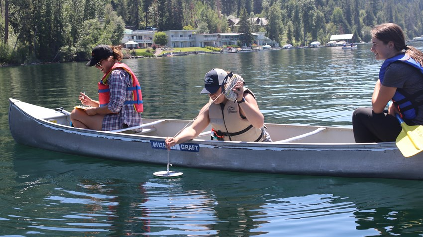 Citizen Scientists Help Gather Water Quality Data