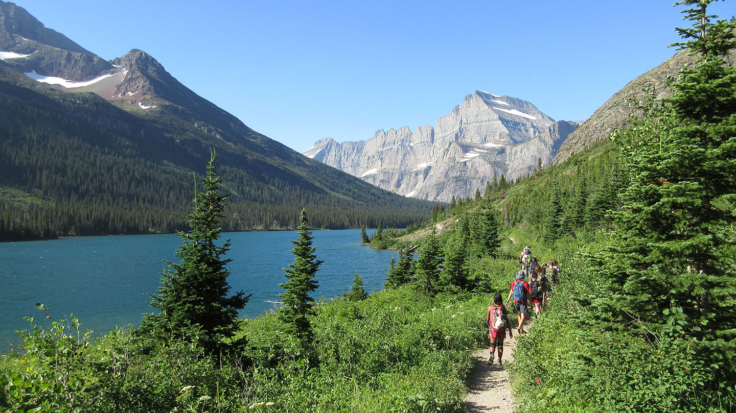 FLBS Field Ecology at St. Mary's Lake, Glacier Park