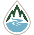 FLBS mark-only mountains-river-lake logo