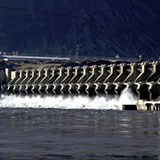 John Day dam on Columbia River