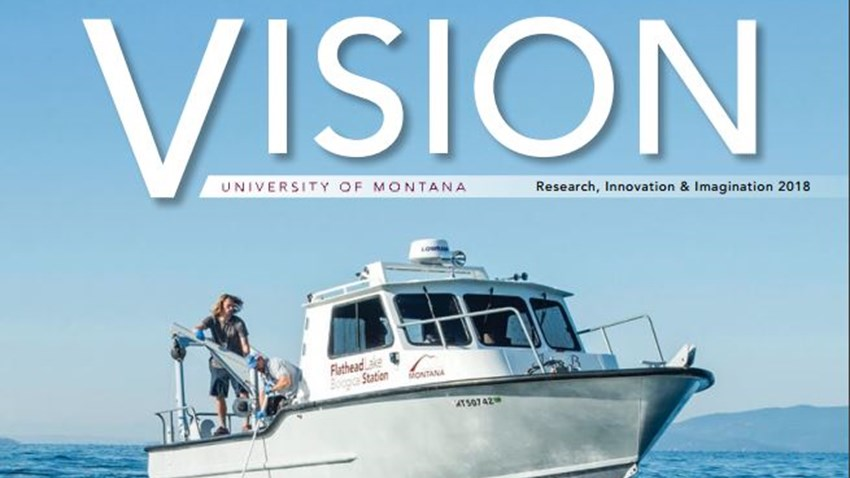 FLBS AIS Research Featured in Vision Magazine