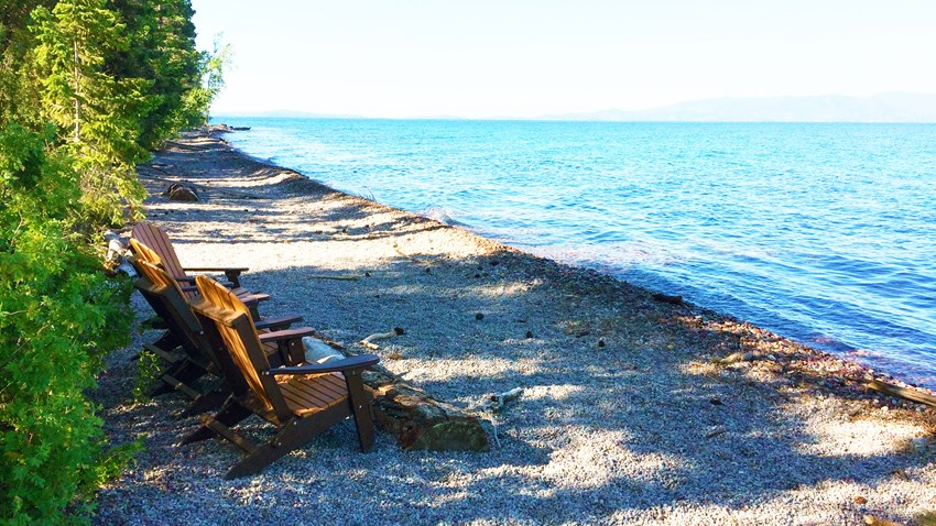Fighting Shoreline Erosion at FLBS
